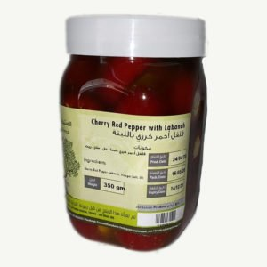 Cherry Red Pepper with Labaneh
