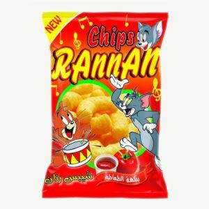 Rannan Chips - Tomato Flavor